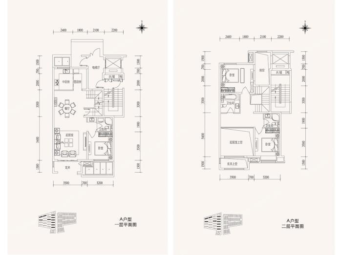 晋源区48-172.13平方米别墅约11000元/平方米泰山龙湖户型图片