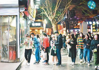 夜晚烟火气回归!济南特色商业街延长营业时间夜间疫情