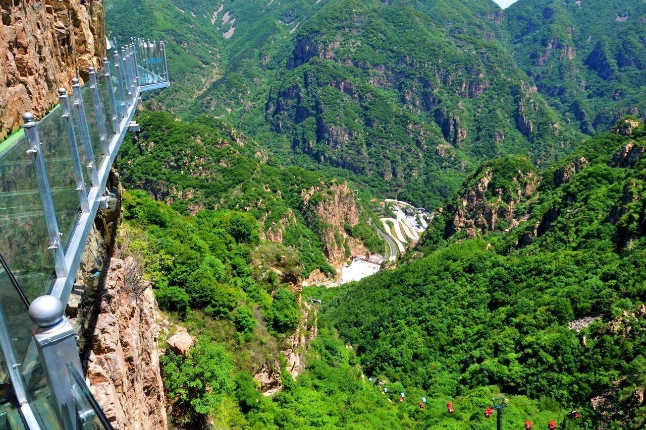 北京平谷天云山旅游风景区