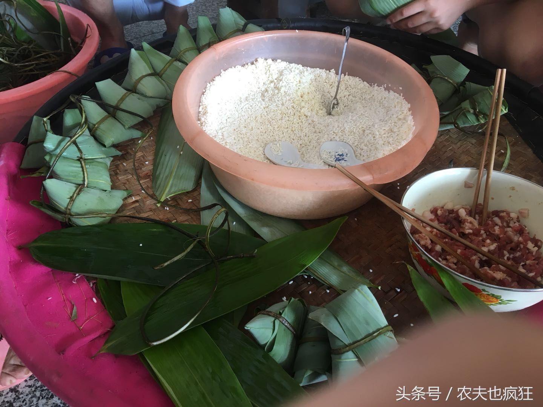 粽情端午:南方的农村端午节这样包粽子,三角形粽子你见过吗?