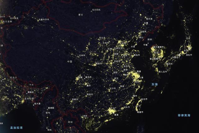 卫星地图哪个最清晰_实时地球卫星地图