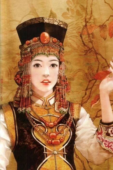 56个民族传统服饰,惊艳图片