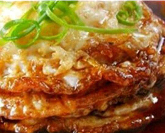 美食推荐:孜然花菜,糖醋荷包蛋,关东素扒肉,百叶结烧肉