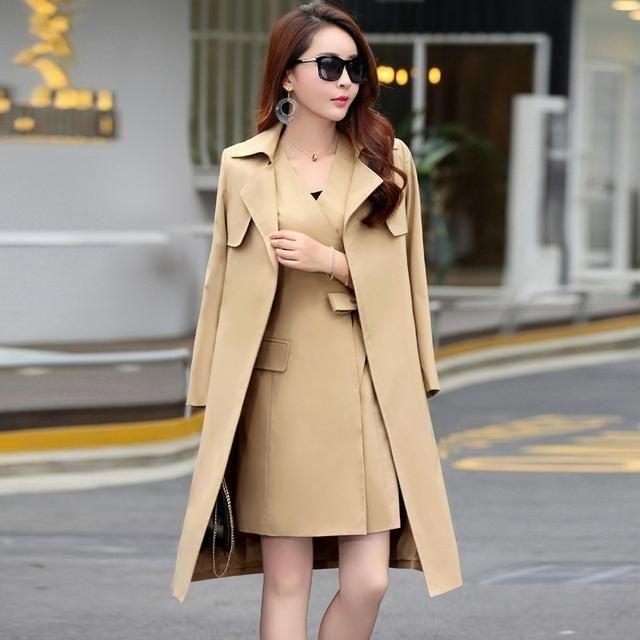 风衣两件套_风衣外套两件套款式图