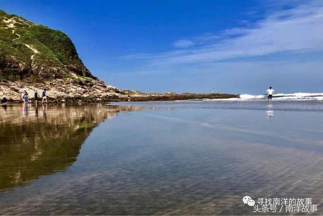 最美海岛游惠州海洋之心盐洲岛