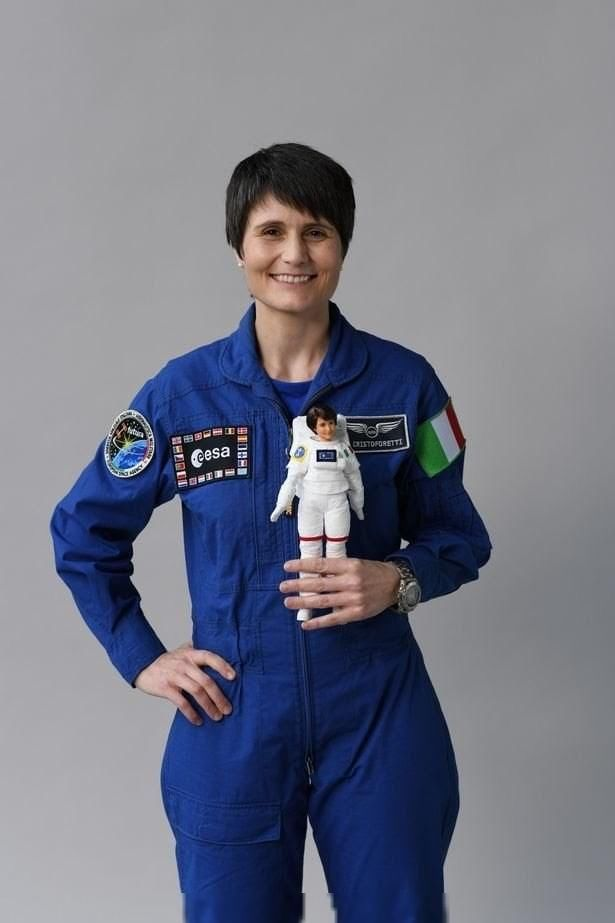 欧洲太空署推出宇航员芭比:鼓励女孩干这行