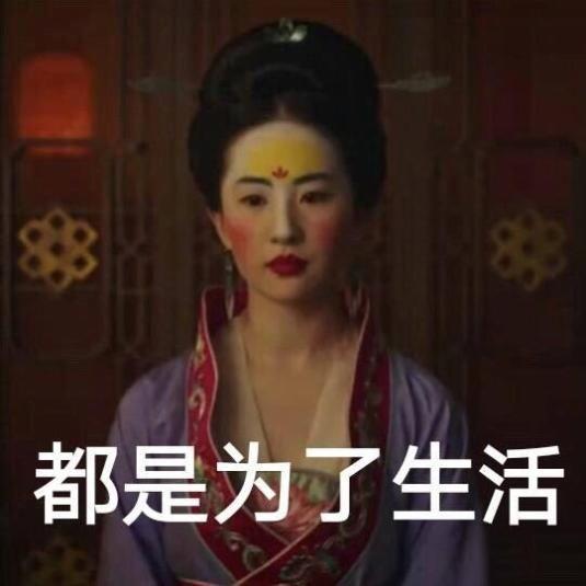 原创投资18亿的《花木兰》,女主被做成廉价表鹏漫表情包岳云暴图片