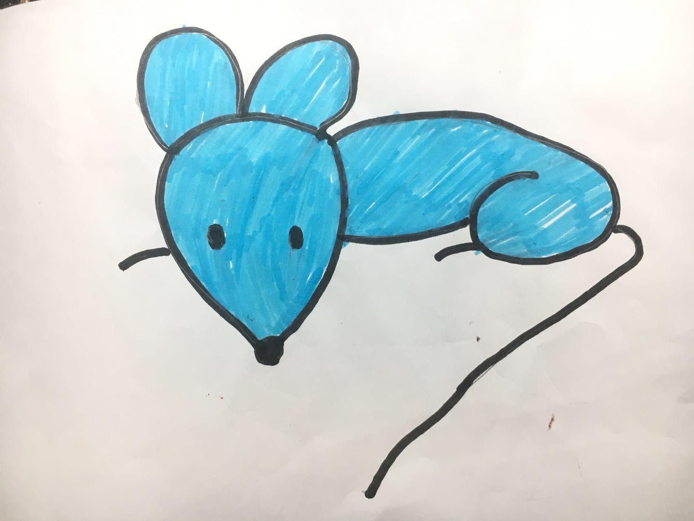 简笔画老师教学生画课外作业好看彩色简笔画妈妈儿子最可爱简笔画