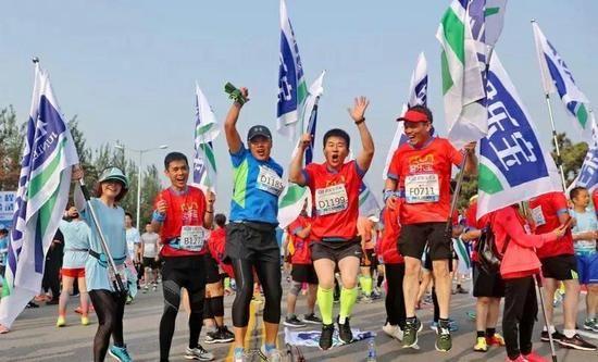 2018秦皇岛国际马拉松暨全国马拉松锦标赛开跑