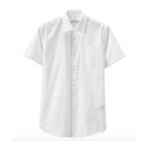 玩转白色衬衫做行走的型男