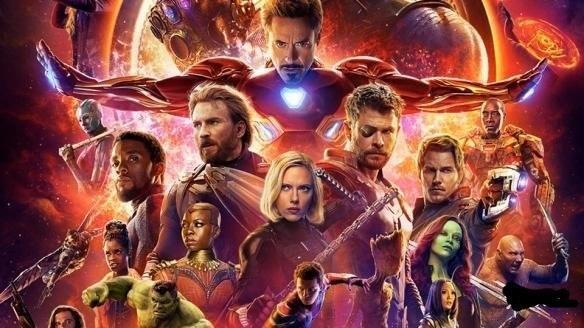 《复仇者联盟3:无限战争》(avengers:infinity war)来了,漫威电影宇宙