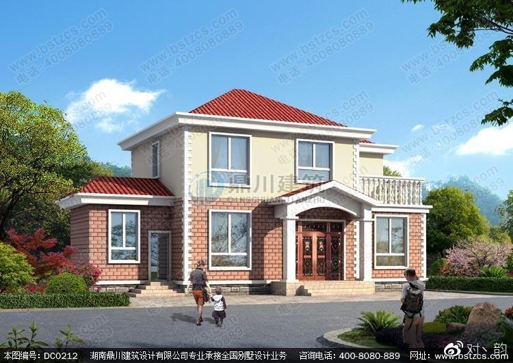 90平米别墅设计图二层