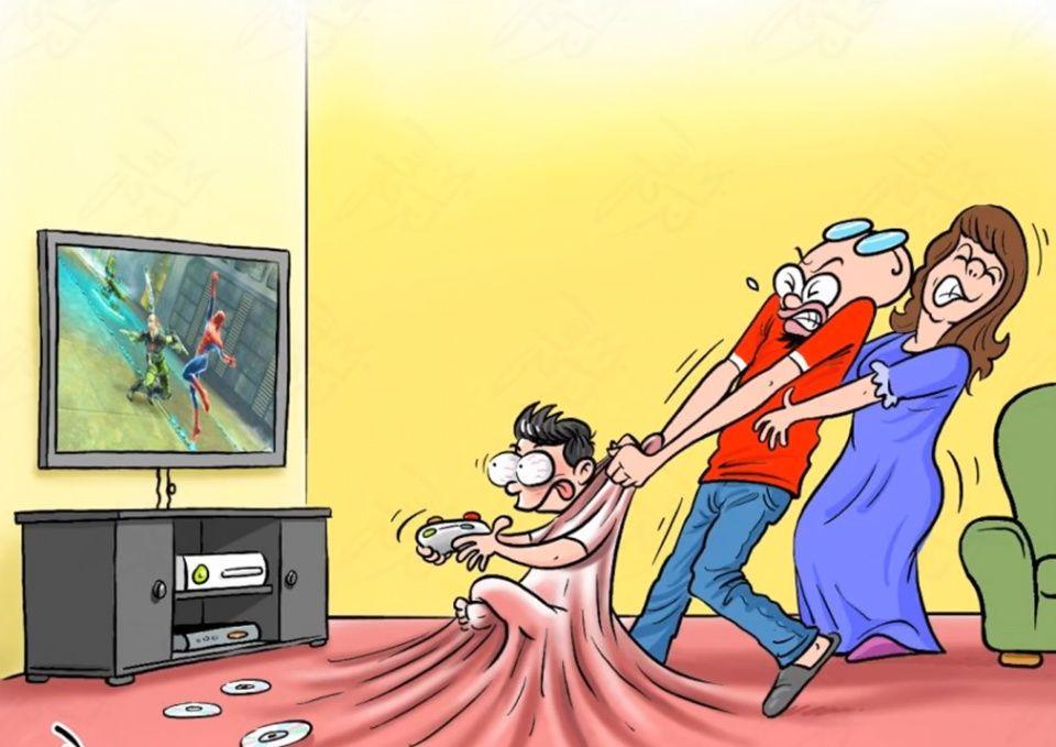 现实人性:赤裸裸的讽刺生活中的热血!聪明的你漫画小说漫画图片