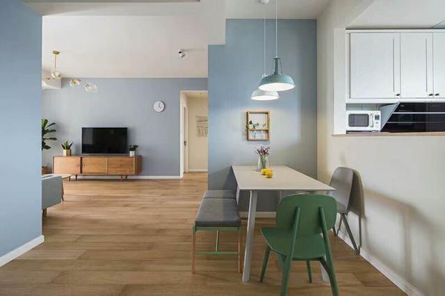 94简约北欧风格家居装修设计,清新自然的室内氛围让人