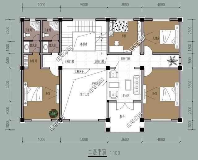 10套3层简欧式农村别墅,含平面图,三合院四合院梦里再