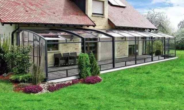 这些农村玻璃阳光房设计效果图 让那些设计大咖都脸红