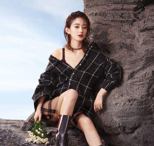 湿发造型最A的五位女星,赵丽颖杨幂等上榜,刘涛知性,热巴最美