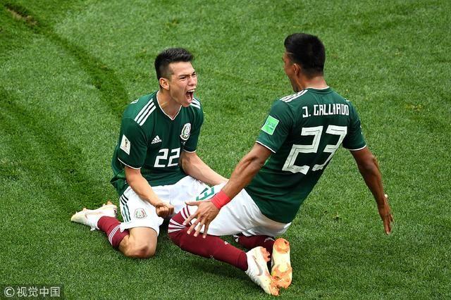 爆大冷!世界杯德国0-1墨西哥,卫冕冠军防线低迷
