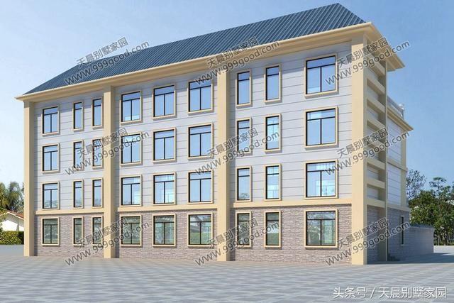 3套农村双拼别墅,第2套新中式现代风最经济,第3套带院子超豪华