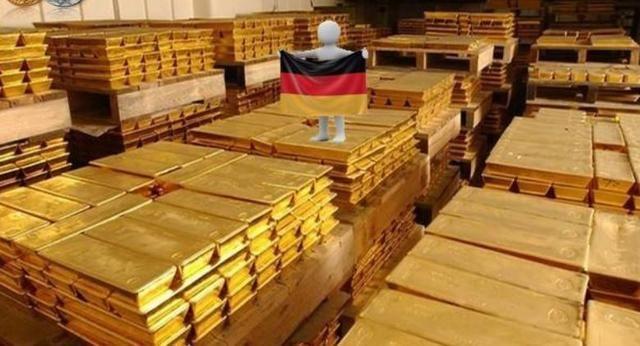 德国等四国提前将海外的黄金运回本国后,第五个国家突然遣返黄金