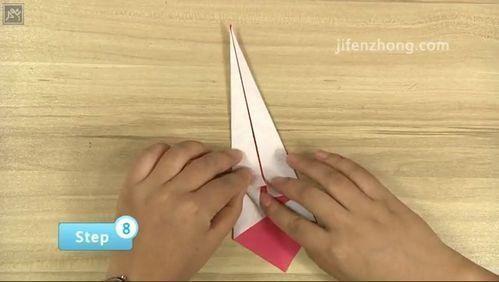 简单漂亮的立体天鹅折纸教程