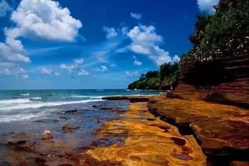 """北海涠洲岛    夏日气温23度 涠洲岛全年平均气温23℃ 被评为""""最美丽"""