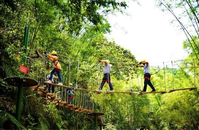 【丛林穿越】玩丛林穿越,夏日纳凉
