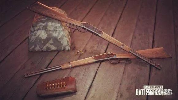 绝地求生:吃鸡新武器win94步枪,装上瞄准镜完爆98k