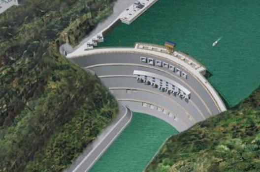 溪洛渡水电站图片