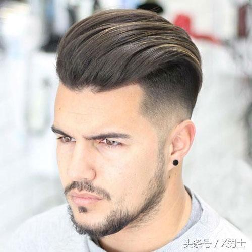 男士发型只要做到这3招,不烫不染反而更帅!