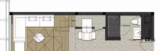 太牛了!35平米小复式,层高仅有3.5米,装修效果超赞