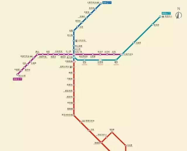 福德站地铁站到春融街站地铁站怎么走 – 昆明地铁换乘