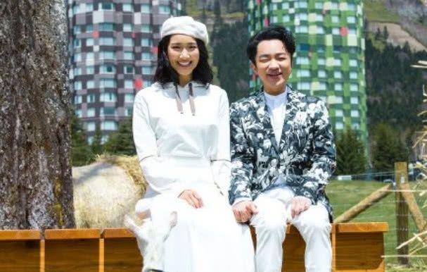 又一对最萌身高夫妇,得知是惠若琪和他后,网友纷纷献上祝福!