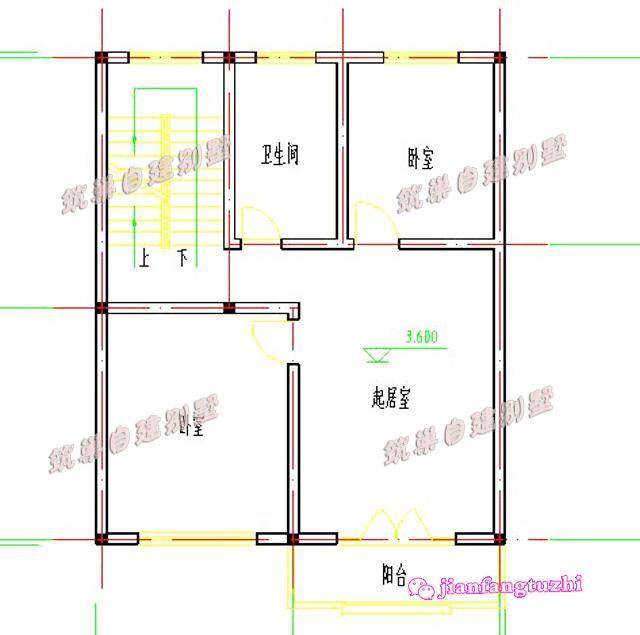 15平米卫生间设计图纸