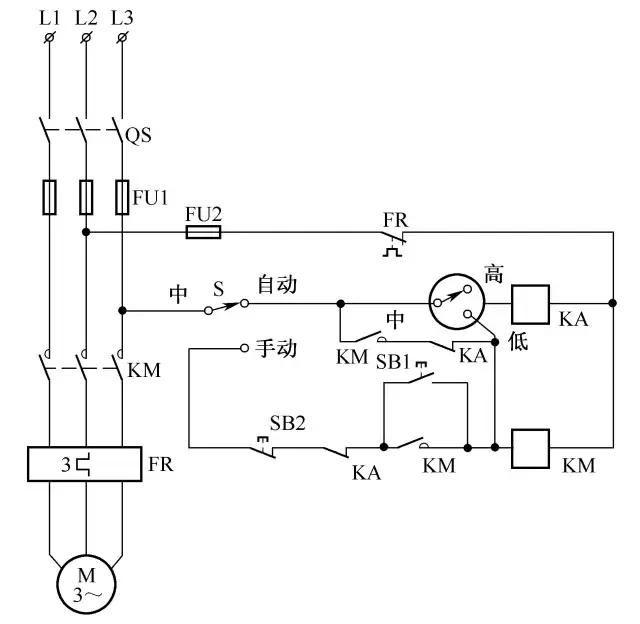 28,排气扇自动控制电路