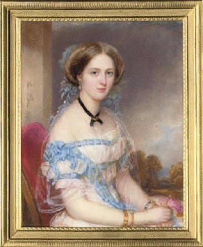 18世纪欧洲宫廷贵妇人物绘画作品欣赏 哈哈哈 第2张