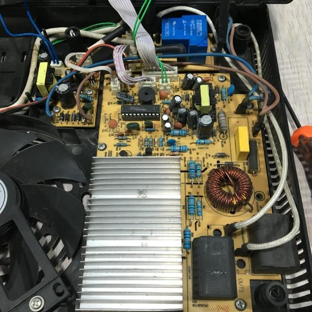 电磁炉维修烧保险,如果把加热线圈裁掉,就没事了,这是...