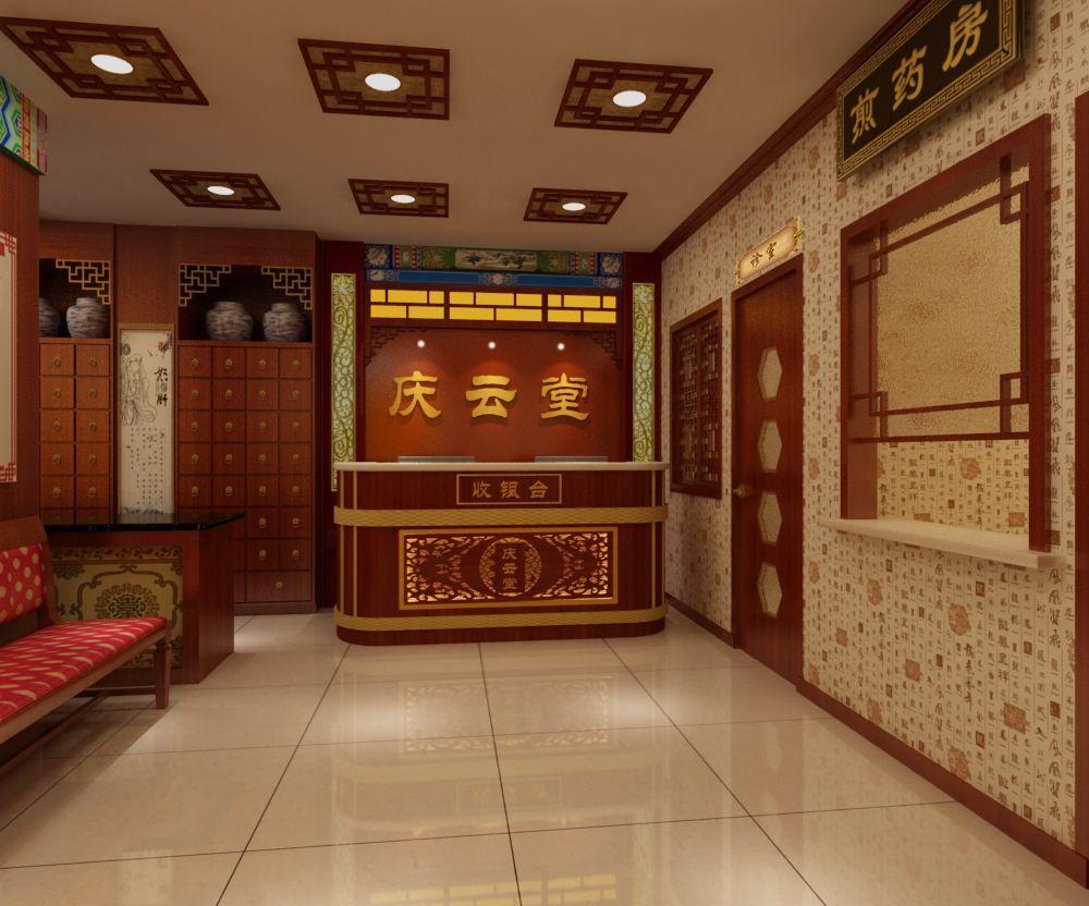 深圳高端中医理疗馆装修设计效果图金思维装饰推荐