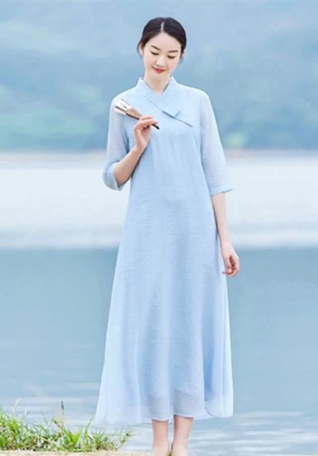 """仙气飘飘""""蓝色系"""",渲染淡雅自然气息,养成清新女神范"""