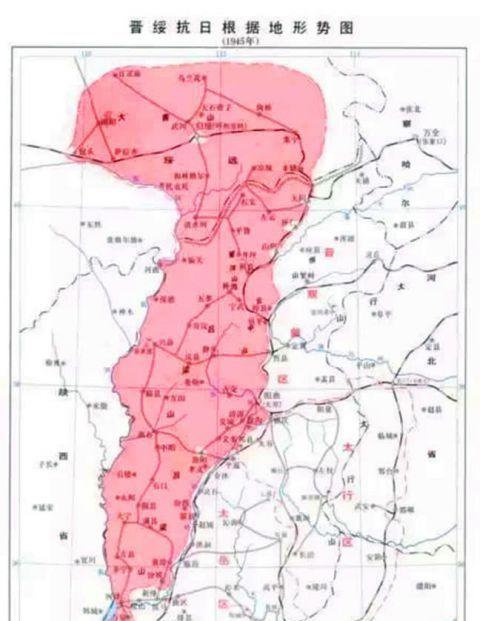 晋绥野战军成立时仅四个旅,四个旅长军衔差距明显