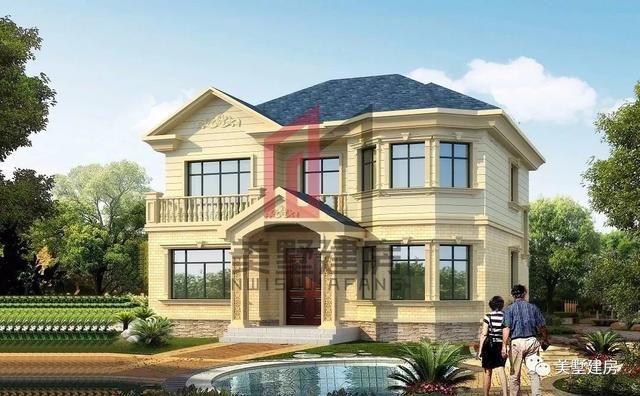 农村自建房别墅款式七图片