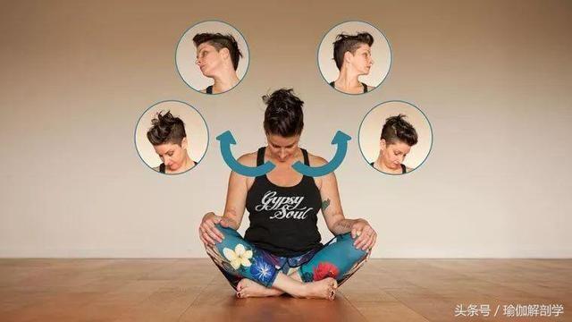 瑜伽理疗,有效缓解肩颈疼痛的8个小练习图片
