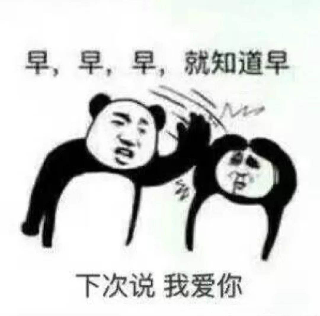 放假v表情早安表情表情包头面无表情包熊猫图片