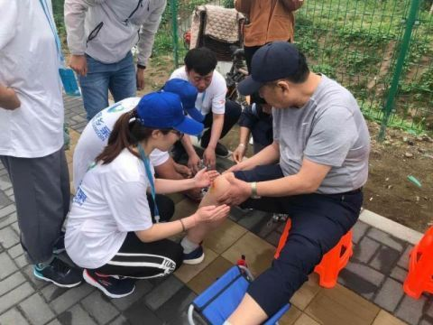 為冬奧練兵 張家口首批志愿者服務世園14天