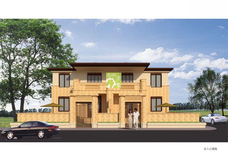 新农村自建住宅原创方案现成图纸