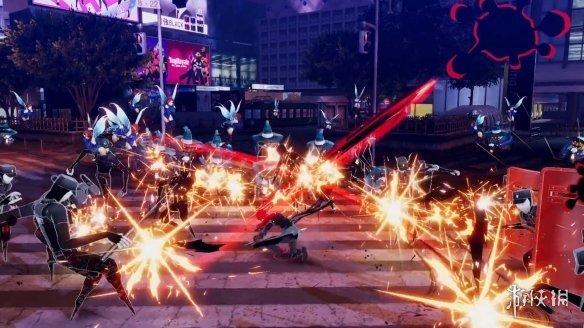 女神异闻录5S》正式公布竟是无双割草游戏!