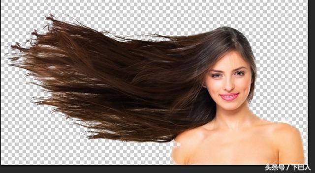 Photoshop 高级抠图通道抠取头发实例
