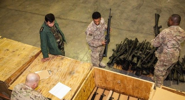 美援来了:反攻伊斯兰国前夕的武器接收