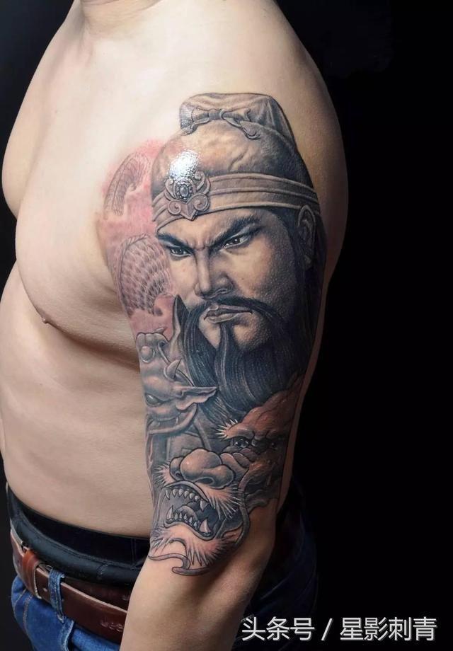 下一期将更新「战神吕布」纹身素材 广州星影刺青--纹身素材,纹身资讯