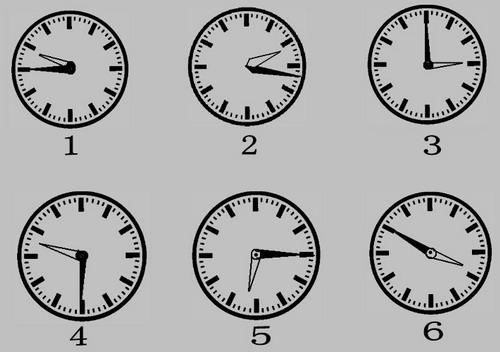 四点时钟简笔画